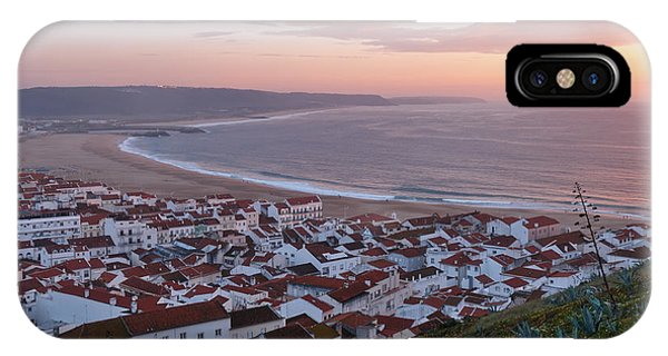 Twilight At Nazare Village IPhone Case
