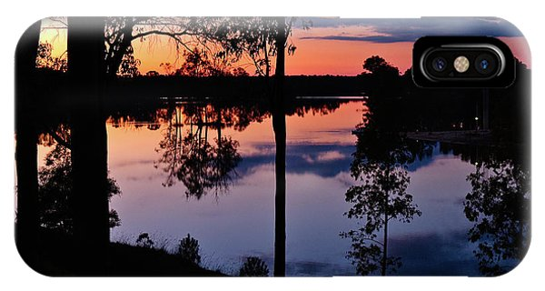 Twilight By The Lake IPhone Case