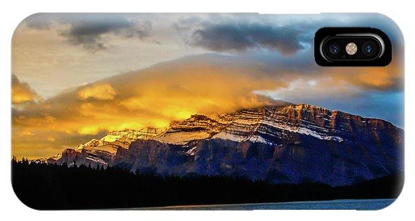 Two Jack Lake, Banff National Park, Alberta, Canada IPhone Case