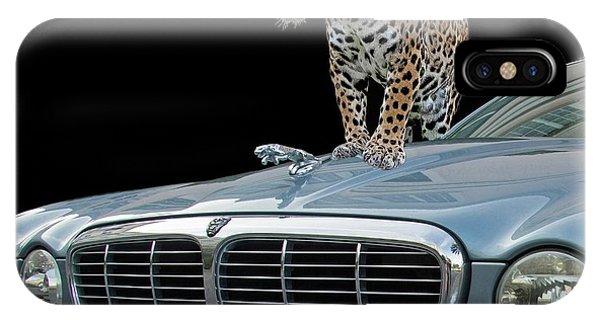 Two Jaguars 1 IPhone Case