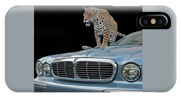 Two Jaguars 1 IPhone Case