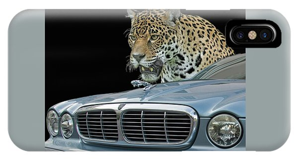 Two Jaguars 2 IPhone Case