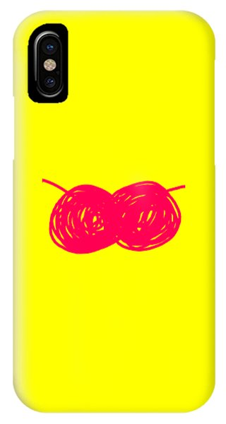 iPhone Case - Two Red Cherries by Ize Barbosa DIAMOND IS FOREVER