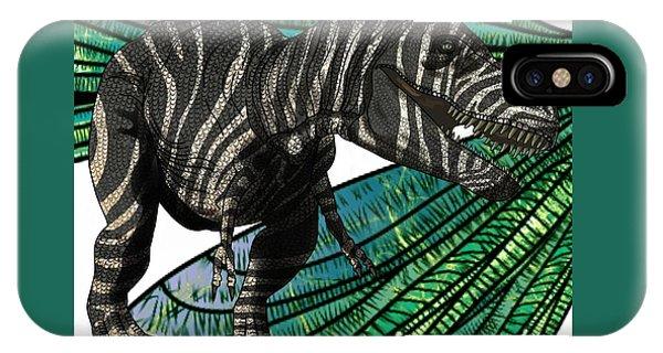 Tyrannosaurus Takes Wings IPhone Case