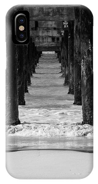 Under The Pier #2 Bw IPhone Case