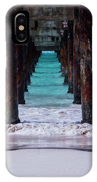 Under The Pier #3 Opf IPhone Case