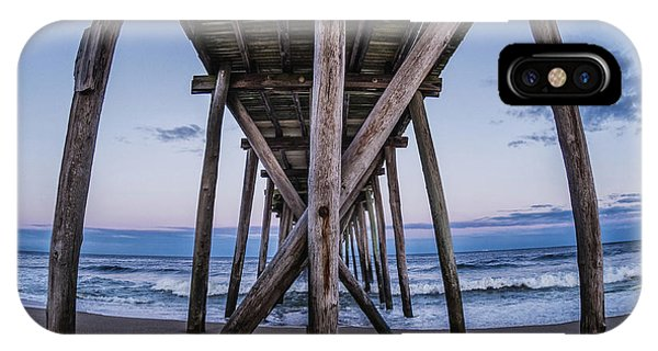 IPhone Case featuring the photograph Under The Pier by Steve Stanger