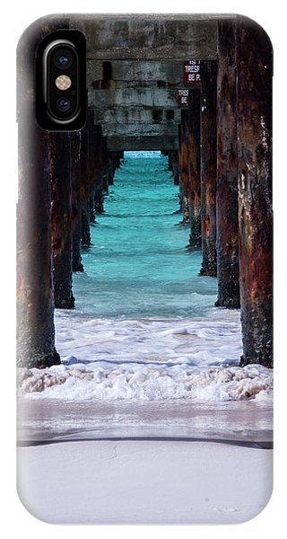 IPhone Case featuring the photograph Under The Pier by Stuart Manning