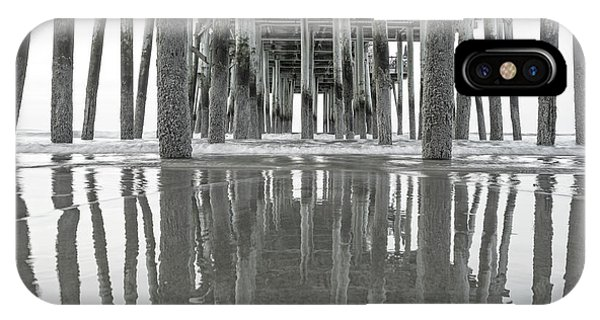 Orchard Beach iPhone Case - Under The Pier Sunrise Classic by Betsy Knapp