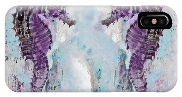 iPhone Case - Under The Sea Colorful Watercolor Art #26 by Debra and Dave Vanderlaan