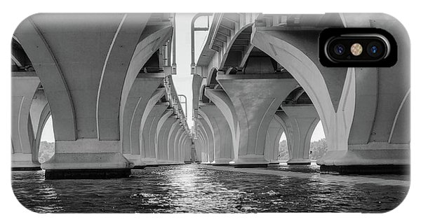 Under The Woodrow Wilson Bridge IPhone Case