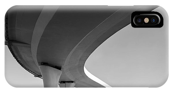 Columns iPhone Case - Underside Of An Elevated Roads by Gubin Yury