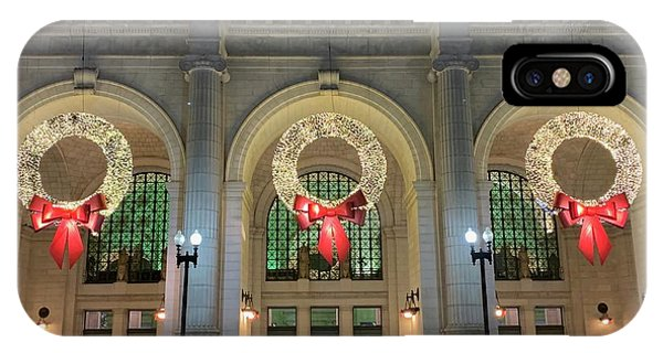 Union Station Holiday IPhone Case