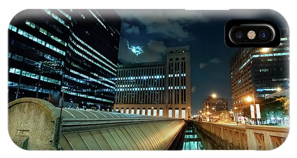 Downtown iPhone Case - Union Station Train Vents by Bruno Passigatti