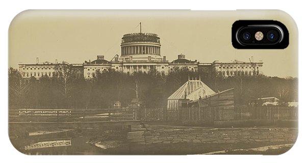 United States Capitol Under Construction IPhone Case