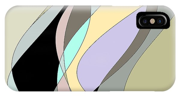 Untitled Abstract No.28 IPhone Case