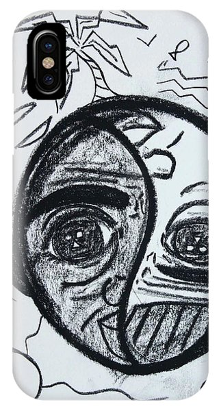 Untitled Sketch IIi IPhone Case