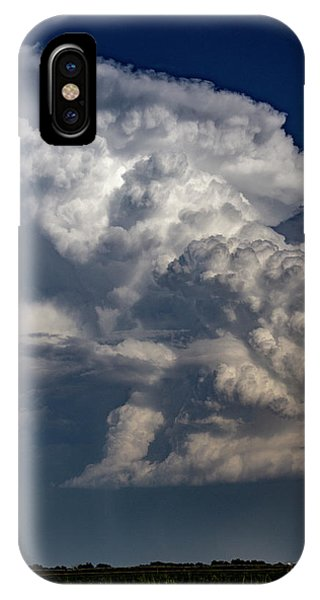 IPhone Case featuring the photograph Updrafts And Anvil 008 by NebraskaSC