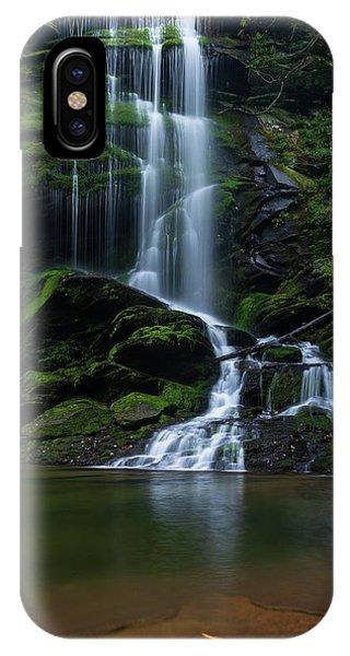 Upper Catawba Falls, North Carolina IPhone Case