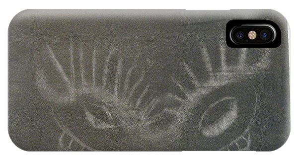Upper Dragon Face IPhone Case