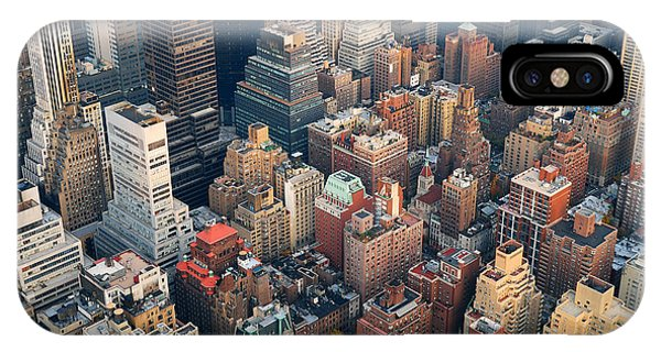 Office Buildings iPhone Case - Urban City Architecture Background. New by Songquan Deng