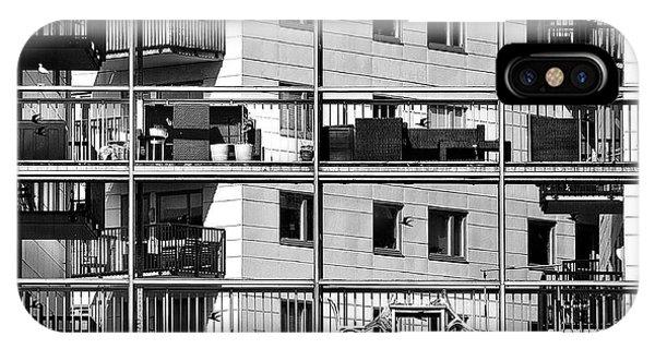 Estate iPhone Case - Urban City View, Urban Construction by Renata Apanaviciene