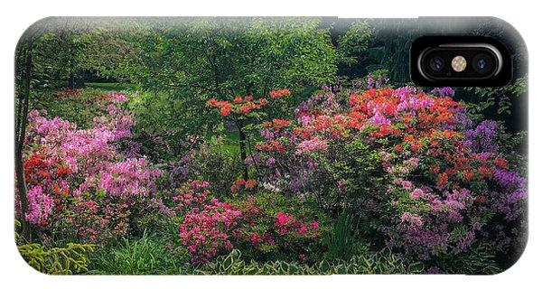 Urban Flower Garden IPhone Case