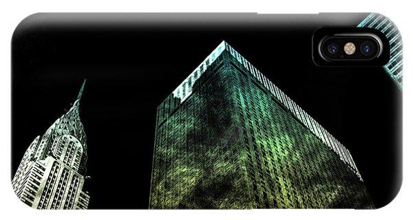 Digital Image iPhone Case - Urban Grunge Collection Set - 02 by Az Jackson