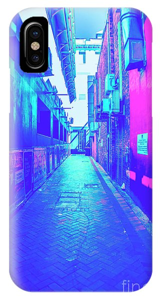 Exterior iPhone Case - Urban Neon by Jorgo Photography - Wall Art Gallery
