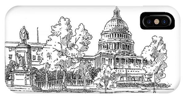 Capitol Building iPhone Case - Us Capitol by Dan Nelson