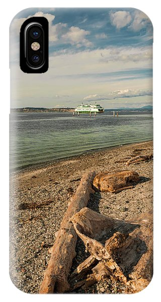 Whidbey iPhone Case - Usa, Washington State, Mukilteo by Richard Duval