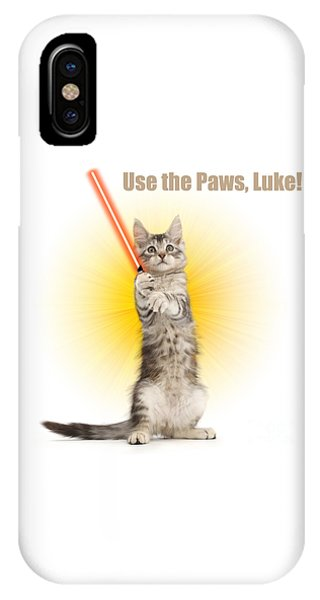 IPhone Case featuring the photograph Use The Paws, Luke by Warren Photographic
