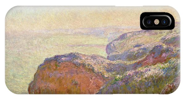 Smoke Fantasy iPhone Case - Val-saint-nicolas, Near Dieppe - Digital Remastered Edition by Claude Monet