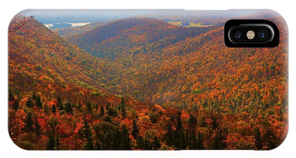 IPhone Case featuring the photograph Valley Below Mount Greylock by Raymond Salani III