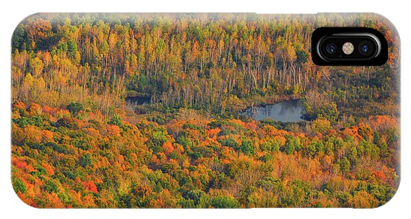 IPhone Case featuring the photograph Valley From The Summit Of Mount Greylock by Raymond Salani III