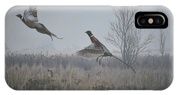 Valley Pheasants IPhone Case