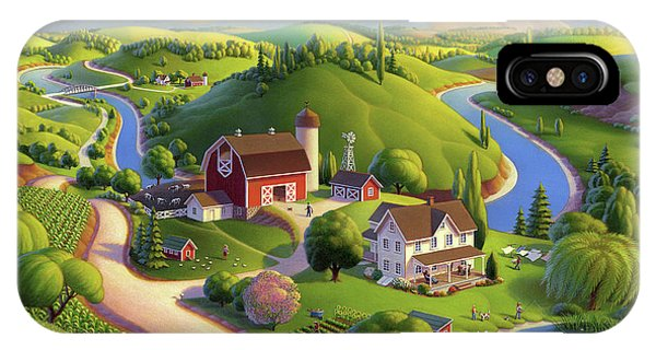Valley Spring Farm  IPhone Case
