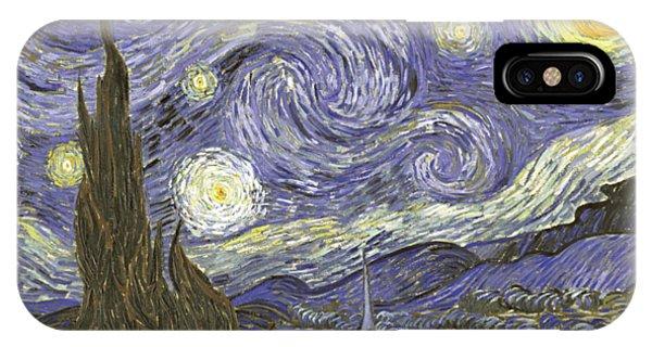 Van Goh Starry Night IPhone Case