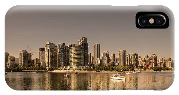 Vancouver Golden Light Hour IPhone Case