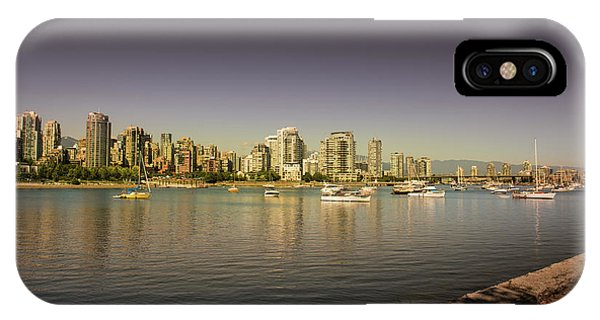Vancouver In Magical Hours IPhone Case