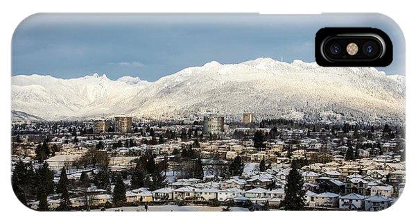 Vancouver Winterscape IPhone Case