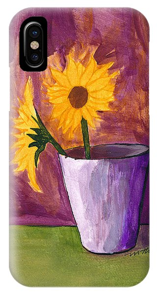 Vase 2 IPhone Case