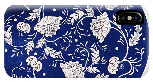 Cover iPhone Case - Vector Background. Beautiful Floral by Nezabudkina