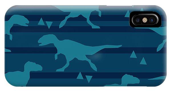 Form iPhone Case - Vector, Illustration, Dinosaur by Alsu Gizzatullina