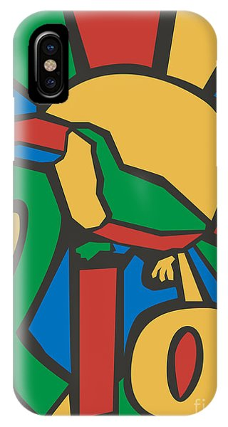 South America iPhone Case - Vector Illustration Rio Poster by Trentemoller