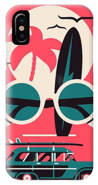 Vector Modern Flat Wall Art Poster Phone Case by Mascha Tace