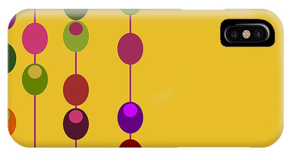 1960s iPhone Case - Vector Retro Inspired Design With by Pzdesigns