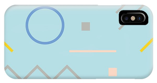 Form iPhone Case - Vector Texture Of Geometric Colorful by Iliveinoctober