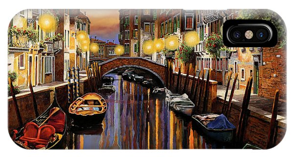 Twilight iPhone Case - Venice At Dusk by Guido Borelli