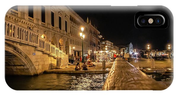 Venice At Night. San Marco IPhone Case